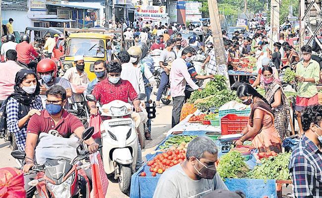 Lockdown: People Violate Lockdown Rules And Police Behave Harshly - Sakshi