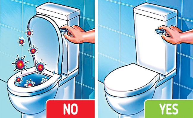 Can Covid Spread By Flushing Toilet? Find Out Truth Here - Sakshi