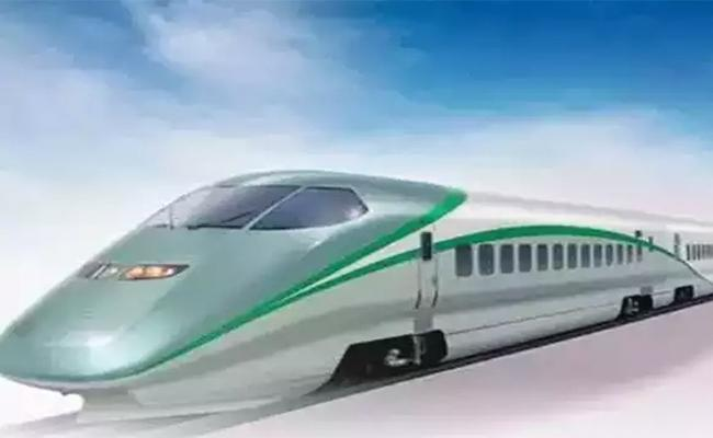 Bullet Train Between Hyderabad And Mumbai Project Started Aerial Survey - Sakshi