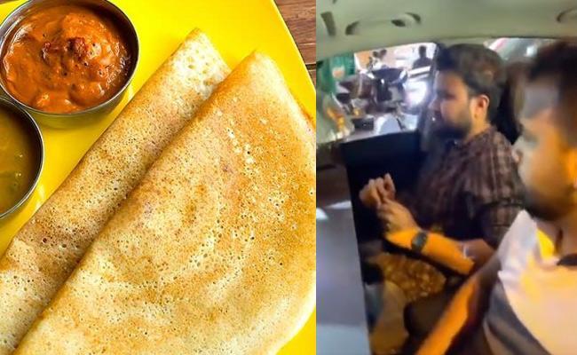A Car Turned Into Restaurant In Lockdown - Sakshi