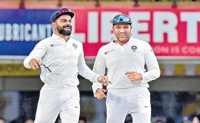 Virat Kohli Rahane Rohit Other Players Join Bio Bubble In Mumbai - Sakshi