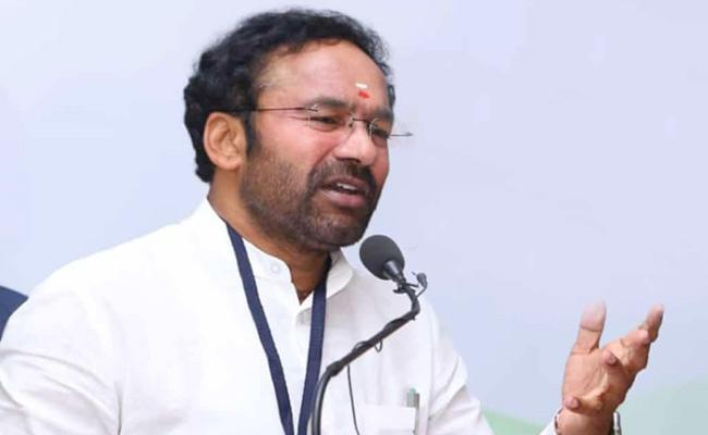 Union Minister Kishan Reddy Chit Chat With Media - Sakshi