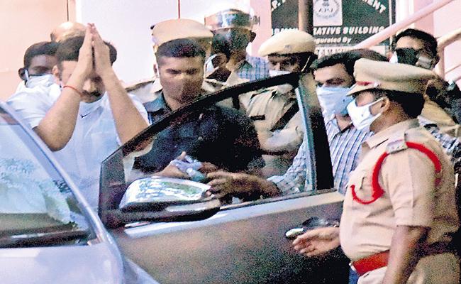 MP Raghurama Krishnam Raju release postponed - Sakshi
