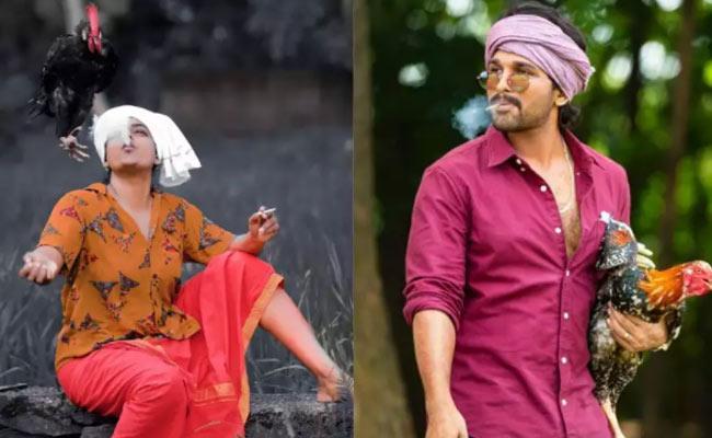 Karthika Deepam Premi As Allu Arjun Pose - Sakshi