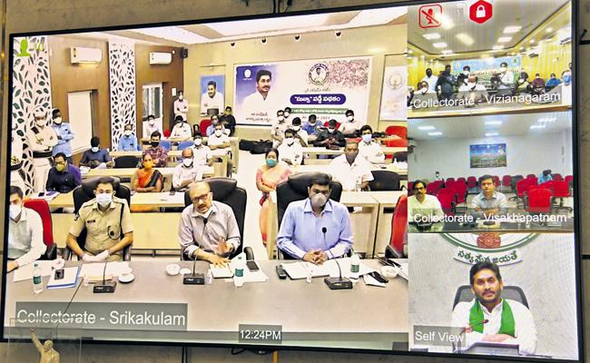 CM Jagan Mandate To Collectors On Cyclone Yaas - Sakshi