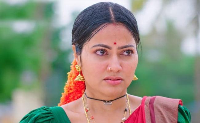 Devatha Serial : Devudamma Fires On Rukhmini  - Sakshi