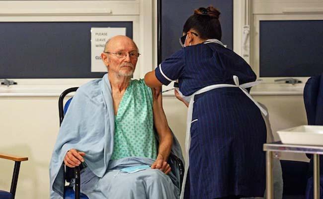 Worlds first Man To Get Covid-19 Vaccine Dies In UK - Sakshi