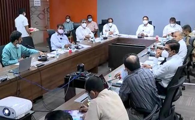 AP Cabinet Sub Committee Meeting On Corona Control Measures - Sakshi