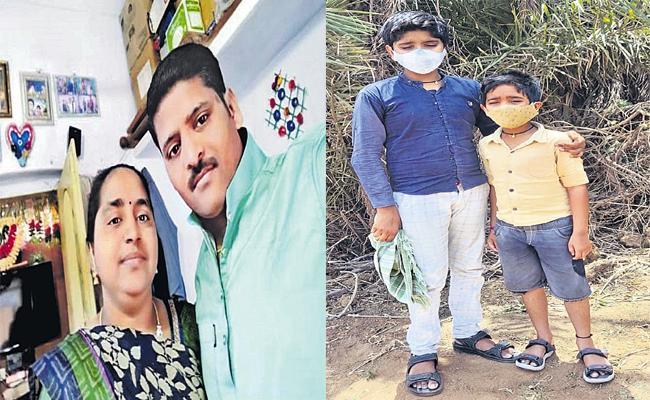 Children Losing Their Parents Due To Coronavirus - Sakshi