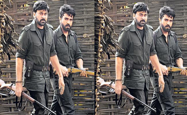 20-days of work is pending of Acharya movie shooting - Sakshi