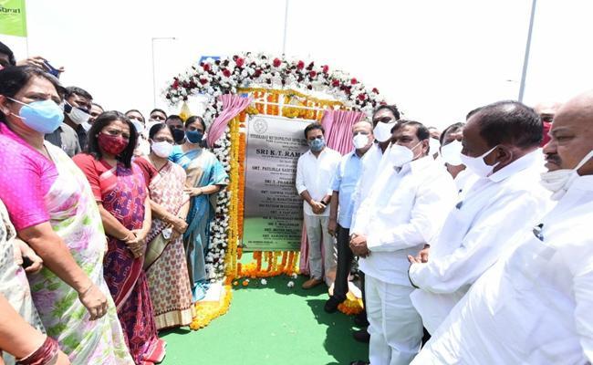 Hyderabad: Ktr Inaugurates Upparpally Ramps Pvnr Expressway - Sakshi