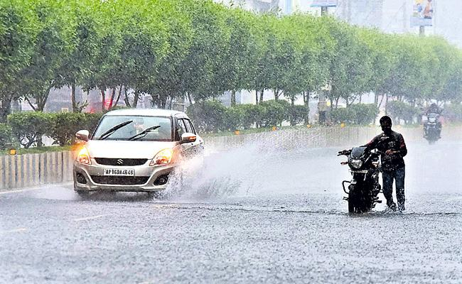 Rainfall In AP From May Month End says weather department - Sakshi