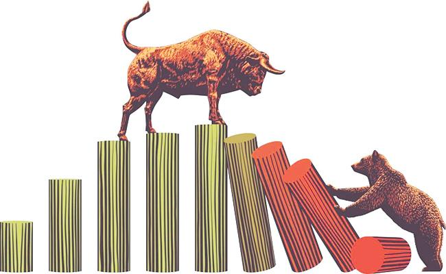 Nifty ends at new record closing high on 1st day of June F and O series - Sakshi