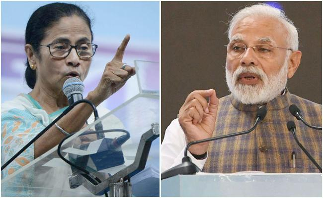 If The PM Tells Me To Touch His Feet, I am Willing To Do Said By Mamata - Sakshi