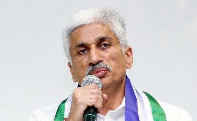 Vijaysai Reddy Satirical Tweet Chandrababu Naidu - Sakshi