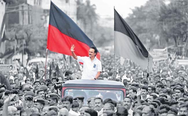 Stalin Led DMK Heads For Big Win In Tamil Nadu - Sakshi