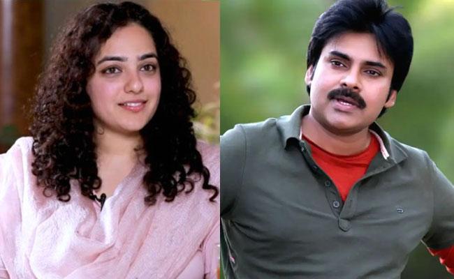 Nithya Menon Plays Wife Role To Pawan Kalyan In Next Film - Sakshi
