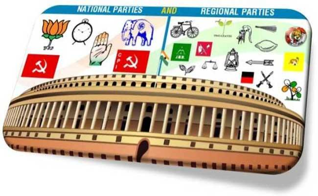 Regional parties defeats to national parties in assembly polls - Sakshi