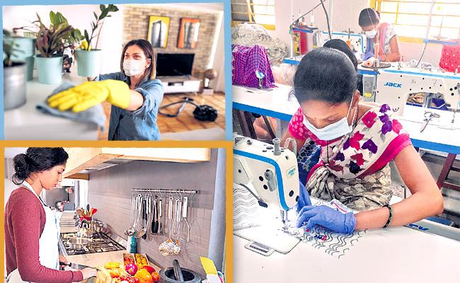 Self And Skilled Employment Over Corona And Lockdown - Sakshi