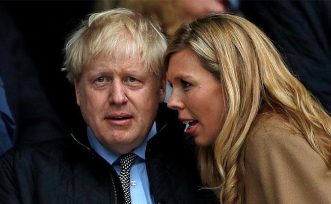 UK PM Boris Johnson Secret Wedding Carrie Symonds - Sakshi