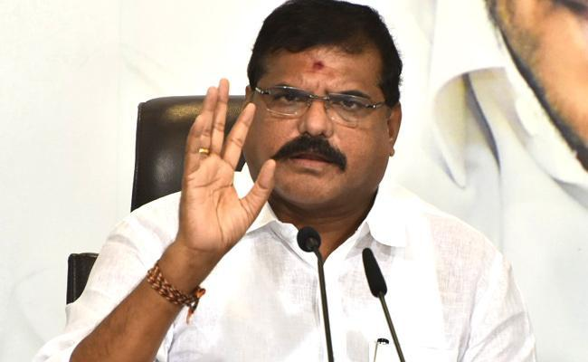 Botsa Satyanarayana Said YSRCP Govt Is Working Towards Development - Sakshi