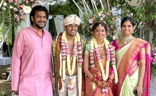 Actress Pranitha Subhash Got Married To Nitin Raju In Bengaluru - Sakshi