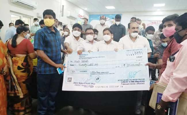 Provided Financial Assistance To Children Who Have Lost Their Parents - Sakshi