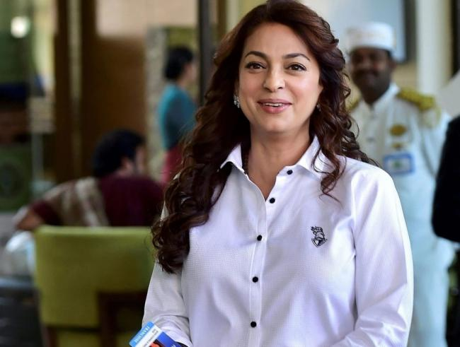 Juhi Chawla Files Suit Against 5G Implementation in India - Sakshi