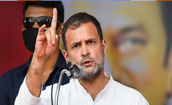 Rahul Gandhi Slams PM Modi On 7 Years Of Govt - Sakshi