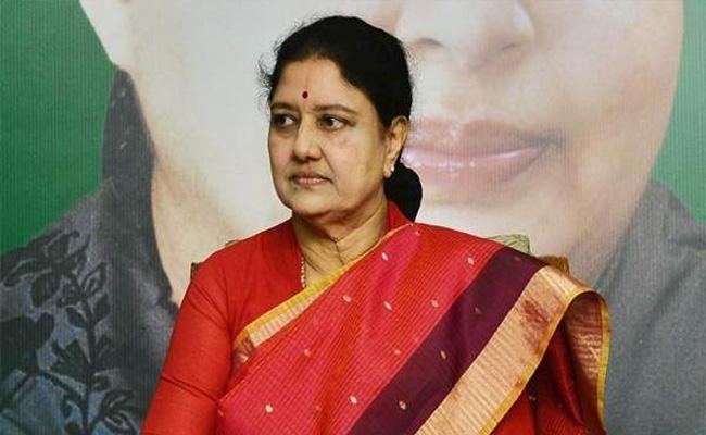 VK Sasikala Hints At Return To Politics In Viral Voice Clip - Sakshi