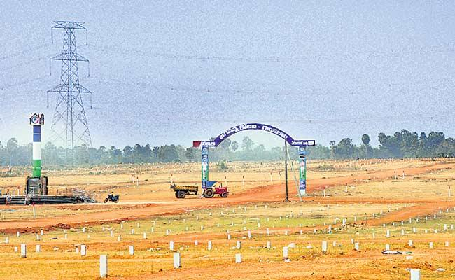 Rapid Construction Of Houses In Andhra pradesh - Sakshi