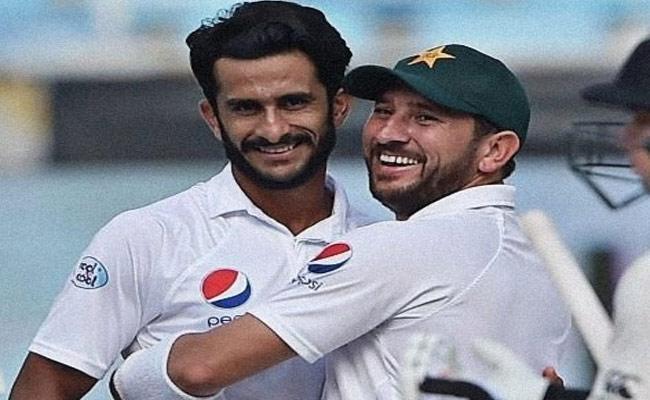 Hasan Ali dedicates Player Of Match To His Newborn Daughter Became Viral - Sakshi