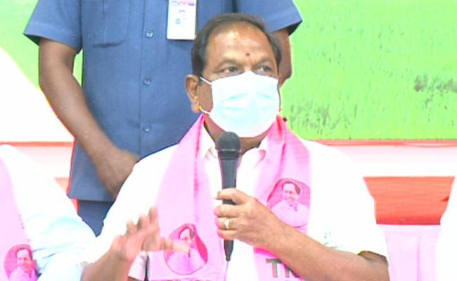 TRS Ministers Counter On Etela Rajender Comments - Sakshi