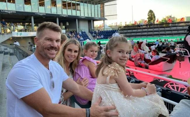 IPL 2021: Adorable Drawing By Warner Daughters Wins Heart Of Netizens - Sakshi