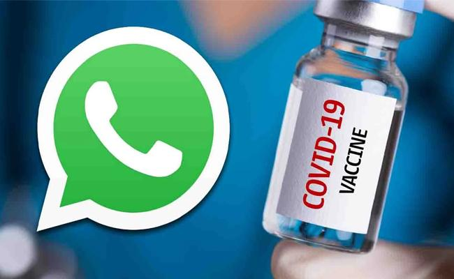 Find Nearest COVID 19 Vaccination Centre Using WhatsApp - Sakshi