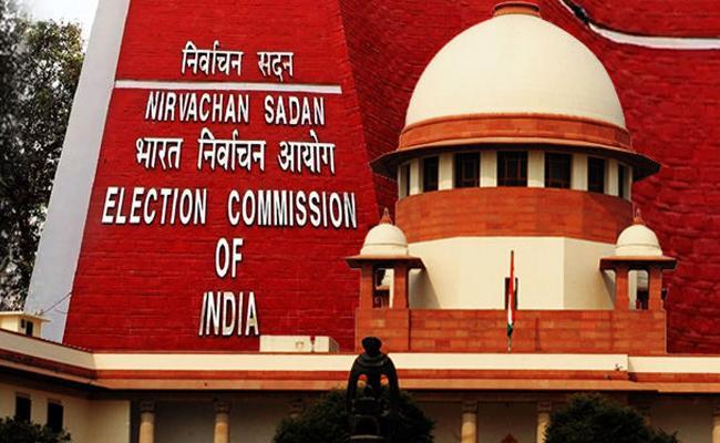 Supreme Court Comments On Election Commission About Media - Sakshi