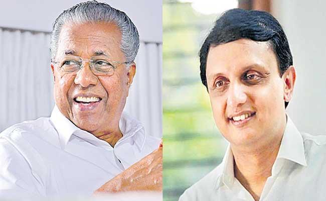 Pinarayi Vijayan son-in-law Mohammed Riyaz wins a beypore mla - Sakshi