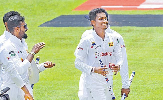 SL Vs BAN Sri Lanka Won 2 Test Match Series - Sakshi