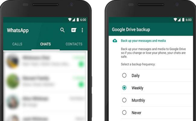 How To Back up, Restore WhatsApp chats in Android - Sakshi