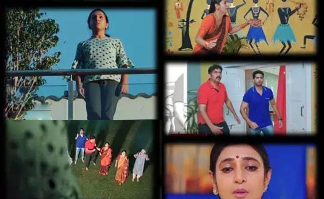 Intinti Gruhalakshmi: Divya Suicide Attempt - Sakshi