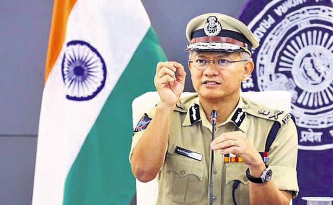 Vaccination for 96 percent of police says Gautam Sawang - Sakshi