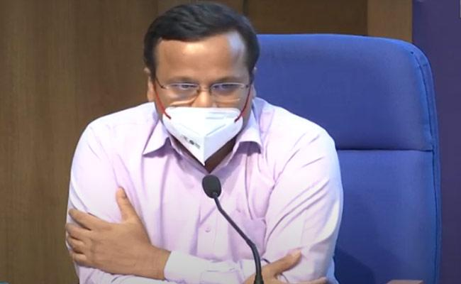 Lav Agarwal Says 12 States Have Over 1Lakh Active COVID Cases - Sakshi