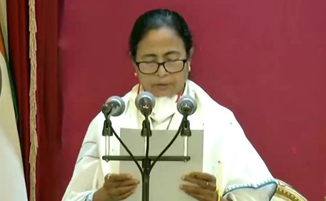 Mamata Banerjee To Takes Oath As CM Of West Bengal Third Time - Sakshi
