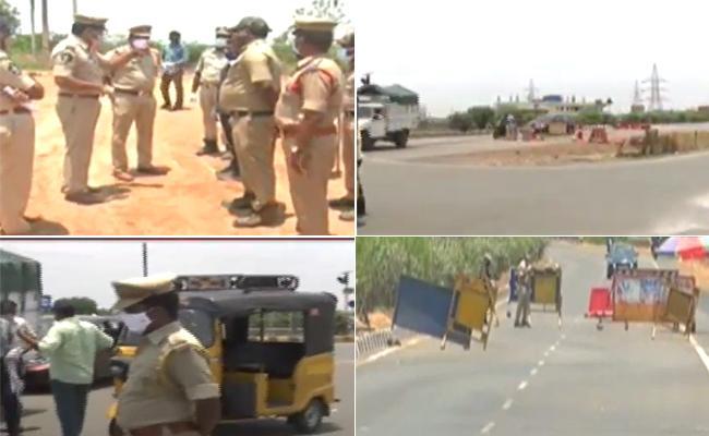 Corona Second Wave: Partial Curfew Force InTo Andhra Pradesh - Sakshi