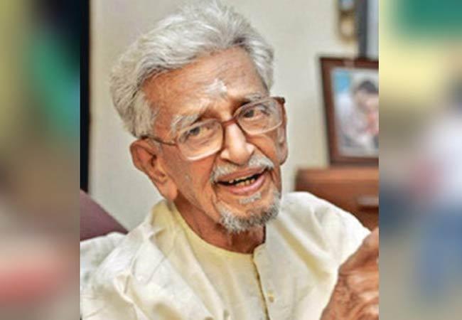 Gandhiji Personal Secretary V Kalyanam Passed Away - Sakshi