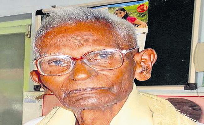 Freedom fighter Pavuluri Sivaramakrishnaiah passes away - Sakshi