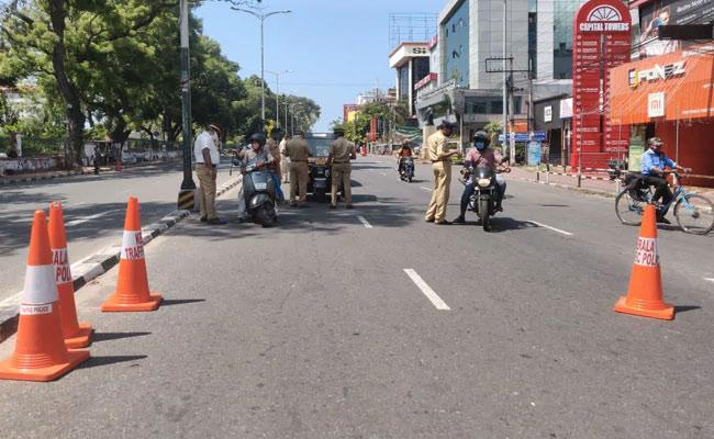Kerala Impose Lockdown From May 8 Amid Rise In Covid Cases - Sakshi