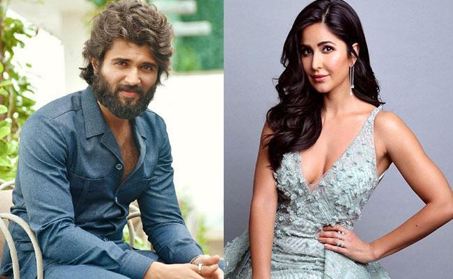 Vijay Devarakonda Romance With Bollywood Star Katrina Kaif - Sakshi