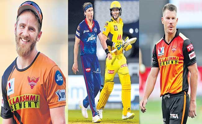 Australian, New Zealand and England players reach a Home - Sakshi