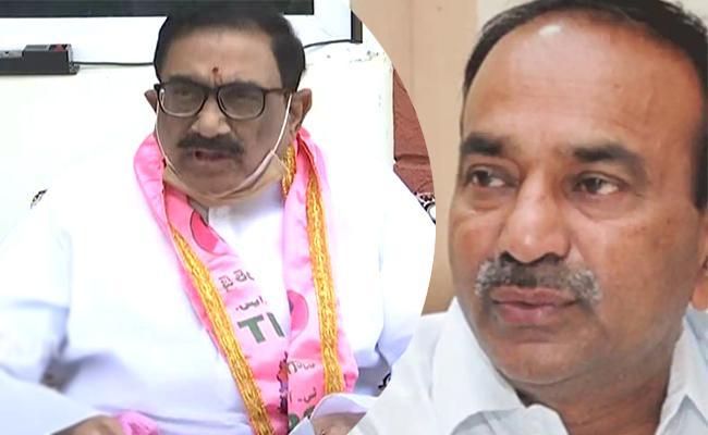 Captain Laxmikantha Rao Fires On Etela Rajender Over Illegal Land - Sakshi